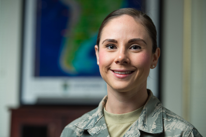 Travis Airman continues family tradition