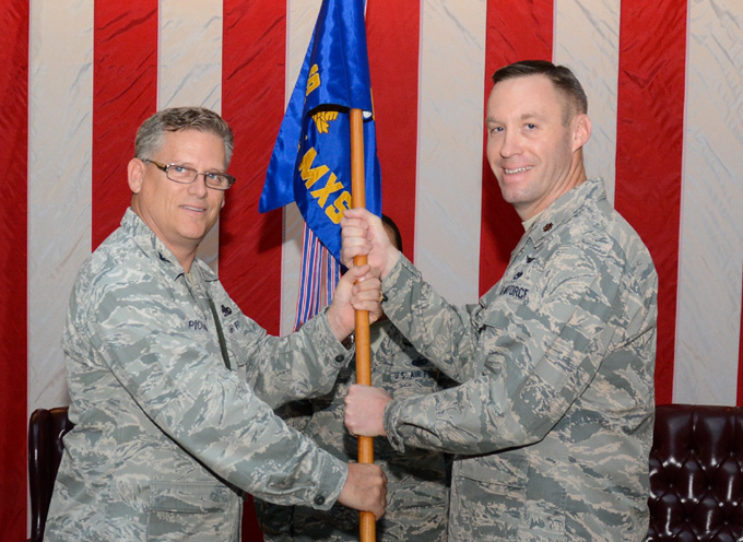 749th AMXS holds change of command ceremony