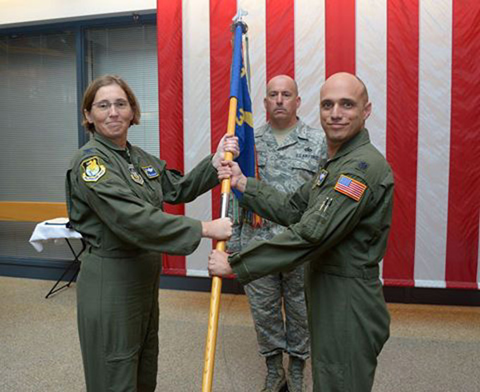 301 AS welcomes its new commander